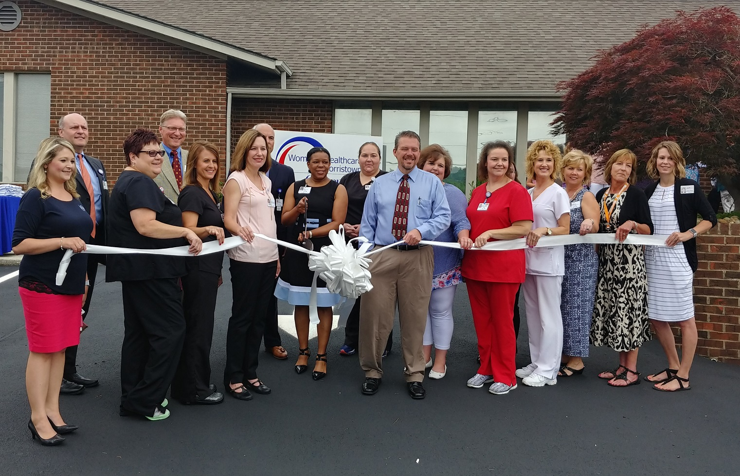 Ribbon Cutting - Women's Healthcare of Morristown